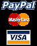 I accept MasterCard and Visa through PayPal !